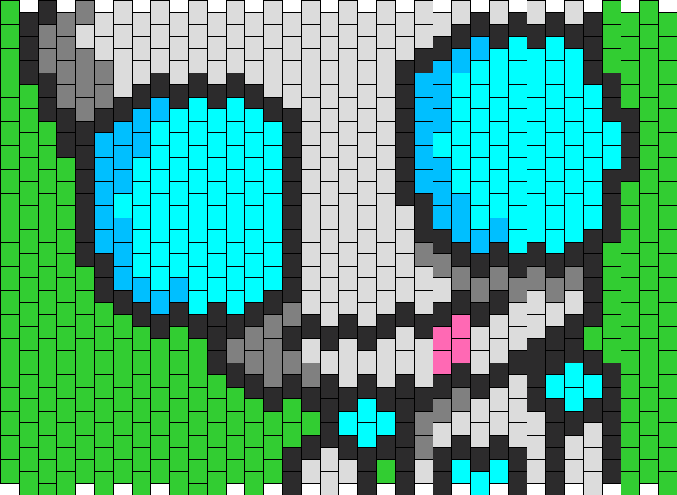 Gir Bot Pony Bead Patterns Characters Kandi Patterns For Kandi Magnificent Kandi Mask Patterns